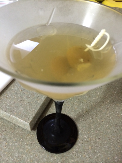 bleu cheese dirty martini