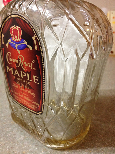 crown royal empty