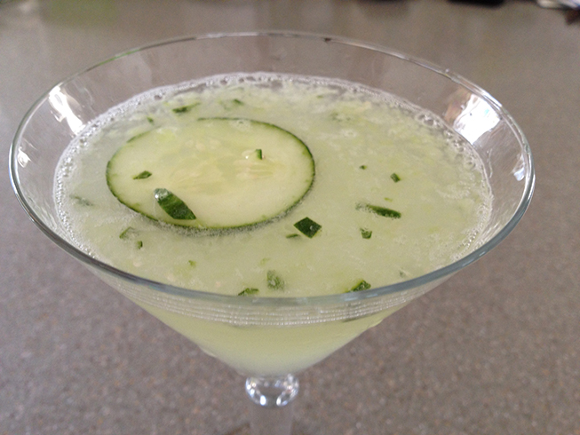 Cucumber Gimlet | Adult Beverages