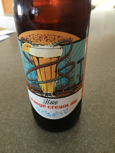 hard orange cream ale