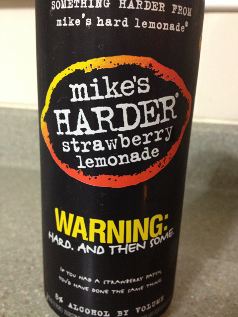 mikes harder strawberry lemonade