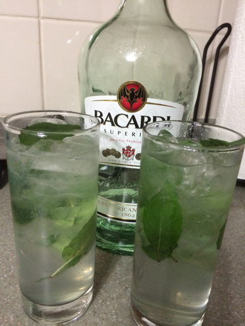 mojitos bacardi rum